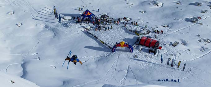 Red Bull Linecatcher - Les Arcs 2015