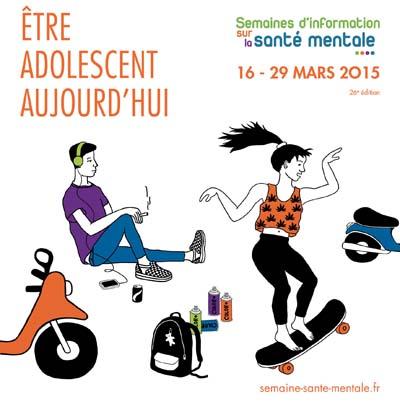Affiche 2015 Semaines d'Information sur la Santé Mentale