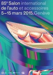 Affiche Salon international de l'automobile de Genève 2015