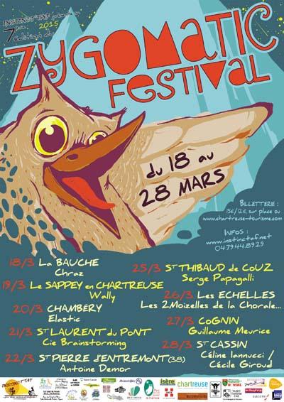 Affiche Zygomatic Festival 2015