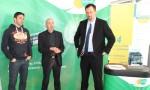 Bertrand Gille, Alain Poncet et Ludovic Jourdain