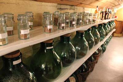 Distillerie des Alpes - les plantes - © Sergio Palumbo - 123 Savoie