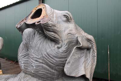 Eléphants à la Fonderie Vincent 1 - © Sergio Palumbo - 123 Savoie