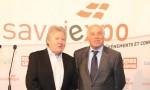 Jacques Berruet, Président de la Chambre de Métiers et de l'Artisanat Savoie et Bernard Sevez - © Sergio Palumbo - 123 Savoie