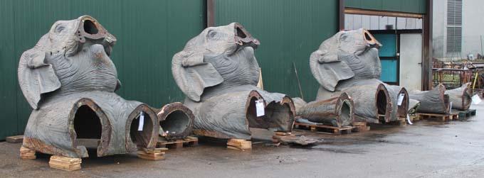Les Eléphants à la Fonderie Vincent - © Sergio Palumbo - 123 Savoie