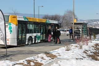 Tournage Arrêt de bus... - © Sergio Palumbo - 123 Savoie