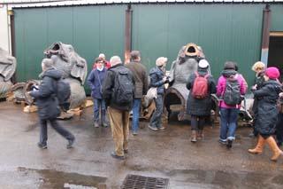 Visite des Eléphants à la Fonderie Vincent - © Sergio Palumbo - 123 Savoie