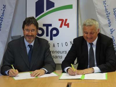 Yannick Perin et Philippe Lansard - © ERDF