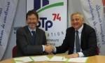 Yannick Perin et Philippe Lansard