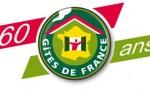 Logo 60 ans des Gites de France®