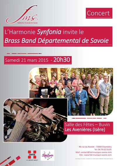 Affiche Brass Band Synfonia