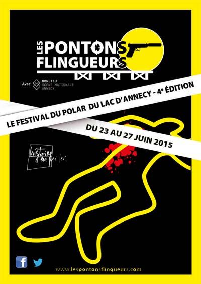 Affiche Les Pontons Flingueurs 2015