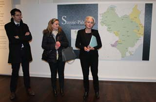 Aloïs Chassot, Alexandra Turnar et Caroline Bongard - © Sergio Palumbo - 123 Savoie
