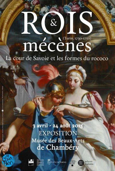 Expo Rois et mécènes à Chambéry