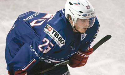 Joueur de l'équipe de France de hockey