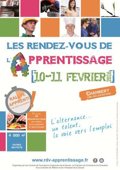 Les rendez-vous de l'apprentissage en Savoie 2016