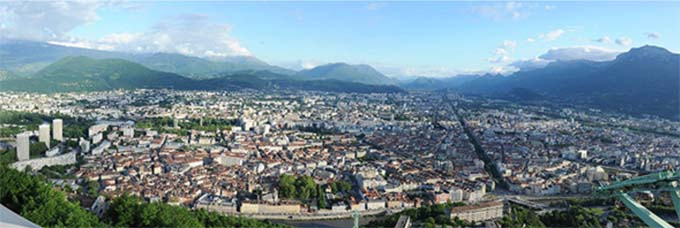 Panorama de Grenoble
