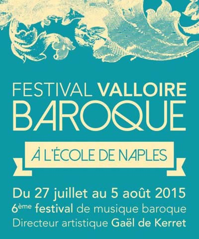 Affiche Festival Valloire baroque 2015