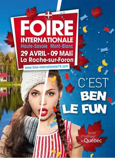 Affiche Foire Internationale Haute-Savoie Mont-Blanc 2016