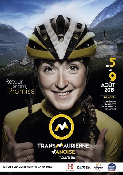Affiche de La Transmaurienne Vanoise 2015