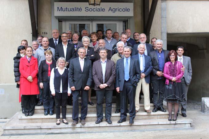 Conseil d'administration MSA Alpes du Nord