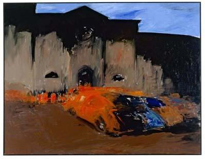 Corpus Christi n°3, 1988, acrylique sur toile, collection particulière - © Gilles Framinet