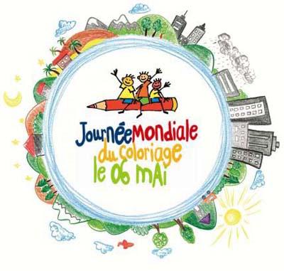 Logo Journée Mondiale du Coloriage