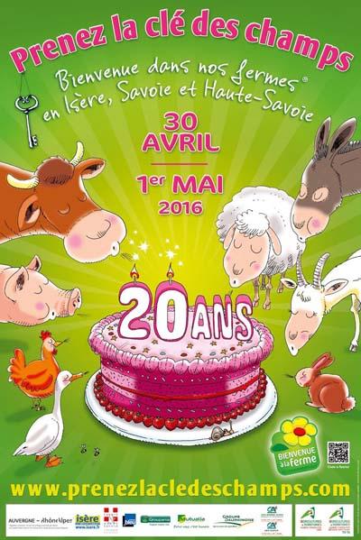 Prenez la clé des champs en Isère et Pays de Savoie 2016