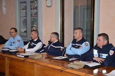 Conseil Local de Sécurité et de Prévention de la Délinquance de la Motte-Servolex présidé par Luc Berthoud
