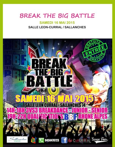 Affiche Break the Big Battle