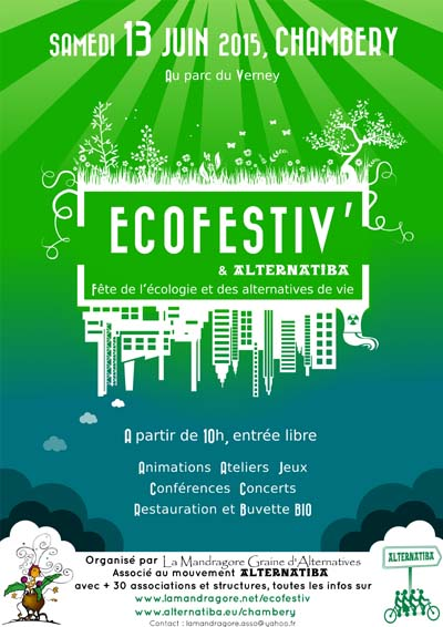 Affiche Ecofestiv' 2015