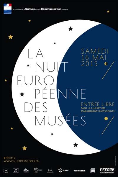 Affiche La Nuit des musées 2015