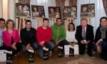 les Lauréats Concours Qualité Totale 2015 en compagnie de Jacques Berruet et Christelle Favella Sieyes