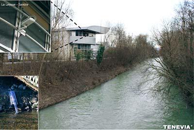 Projet de Tenevia sur la Leysse (sur le campus du Bourget-du-Lac) - © Tenevia