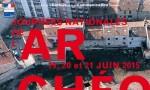 Affiche Journées Nationales de l'Archéologie 2015