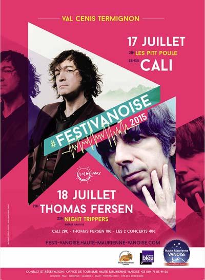 Affiche Les Festi'Vanoise 2015