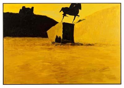 Bellecour, 1987, collection particulière - © Georges Poncet