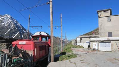 Démolition de l'ancienne soufflerie militaire Mont-Lachat 1