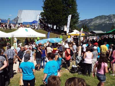 Fête des Fromages de Savoie 2015 Aillons 1 - © AFTalp