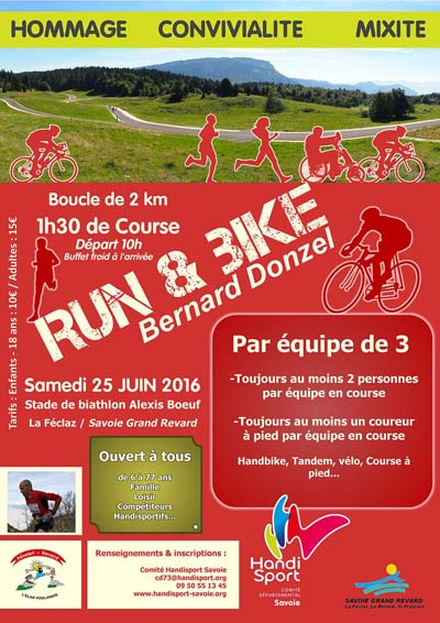 Flyer Run & Bike