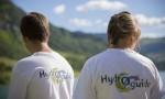2 hydro-guides EDF sur les bords du lac de Roselend - © EDF - A. Aybes