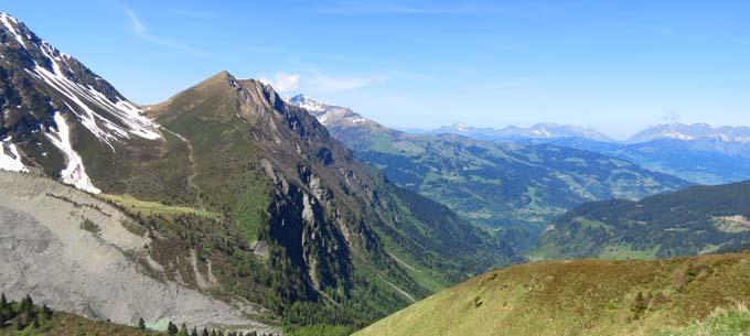 Vue depuis le Mont-Lachat - © OTS de Saint-Gervais