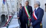 Xavier Dullin, Piero Fassino et Michel Dantin