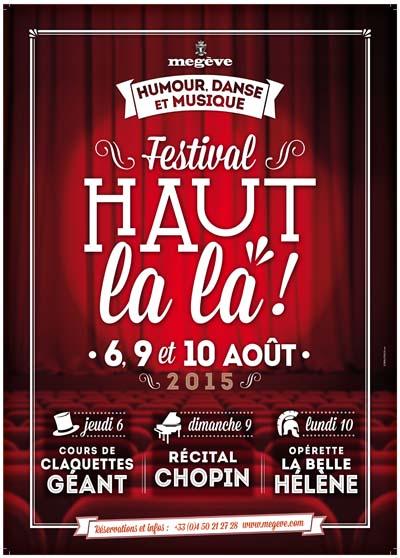 Festival haut la la meg ve 123 savoie for Claquette jean dujardin