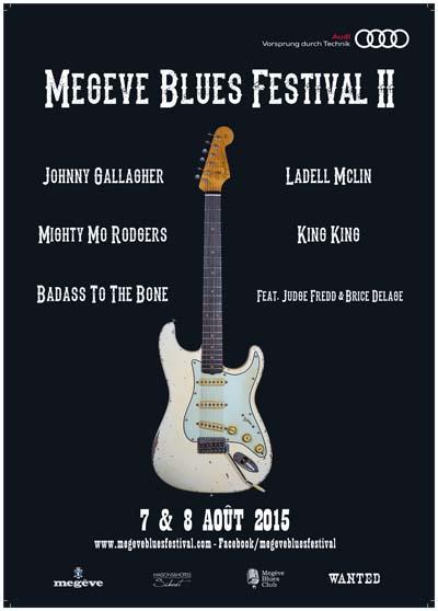 Affiche Megève Blues Festival 2015