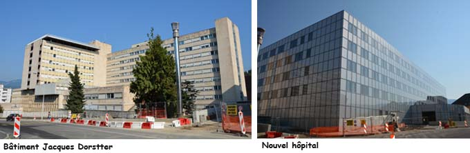 Ancien et nouvel hôpital - © Sergio Palumbo - 123 Savoie