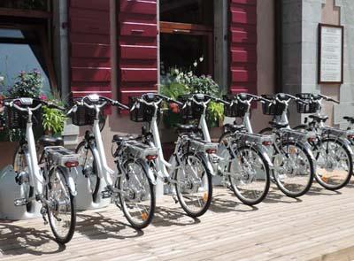 Des Vélos à Assistance Electrique proposés aux Gets