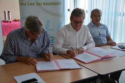 Dominique Dord, Xavier Dullin et Michel Dantin - © Sergio Palumbo - 123 Savoie