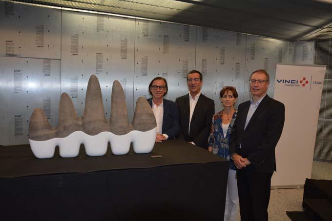 Jérôme Brunet, Guy-Pierre Martin, Sylvia Gotteland et Jean-Paul Galland