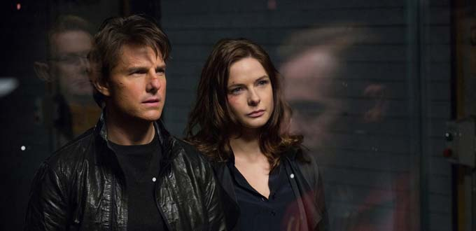 Tom Cruise et Rebecca Ferguson - © Paramount Pictures